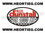 Paul Dunstall Suzuki GS 1000 CS Tank and Fairing Transfer Decal DDUN11-1